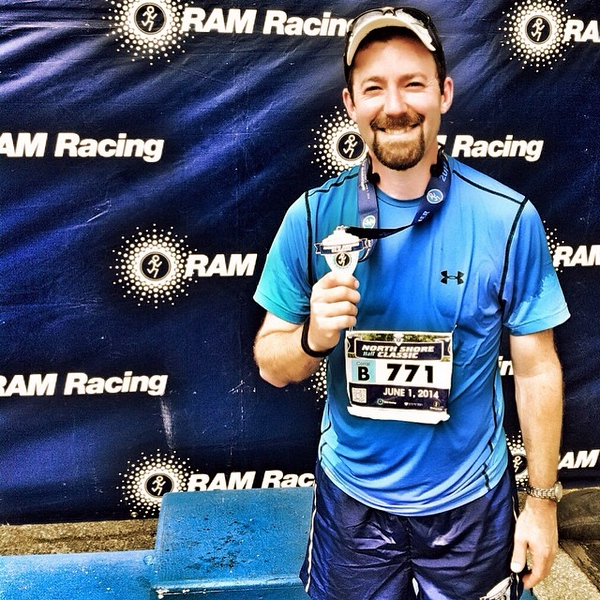 Deeply grateful for the endless support and messages after completing my first half marathon yesterday...but boy are my legs tired today. #latergram #northshoreclassic