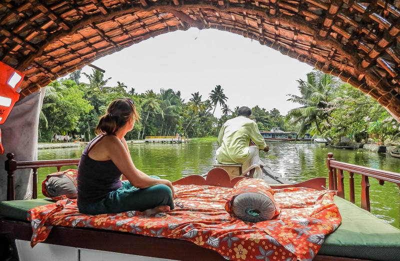 Shelley - Kerala Backwaters Houseboat, India.jpg
