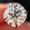 1.27ct Antique Cushion Cut Diamond, EGL K VS1 0