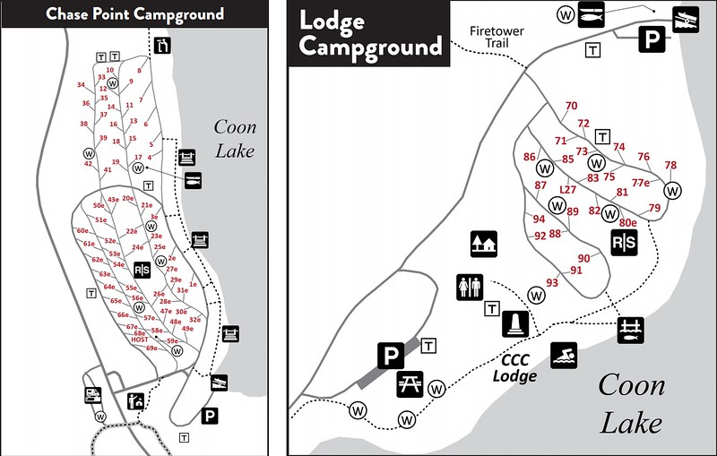 Scenic State Park (Campground Maps)
