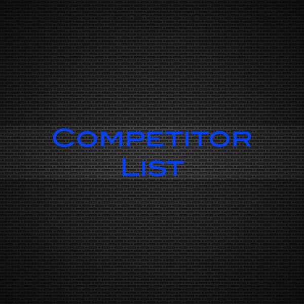Competitor List