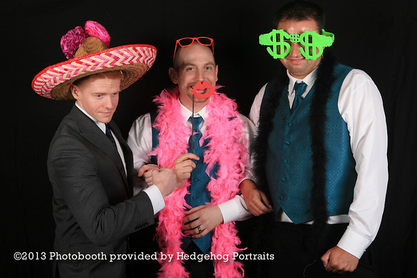 Blount + Cole photo booth