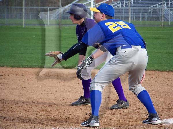Lockport Lions @ Albion Purple Eagles - Varsity Baseball (April 15, 2011)