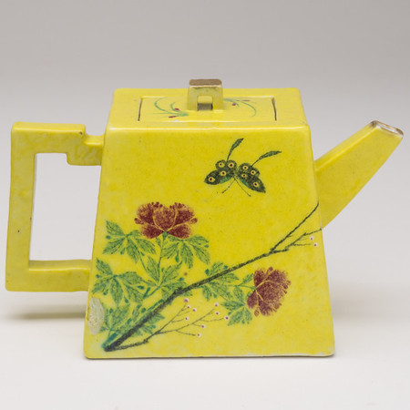 Hand Built Square Tea Pot