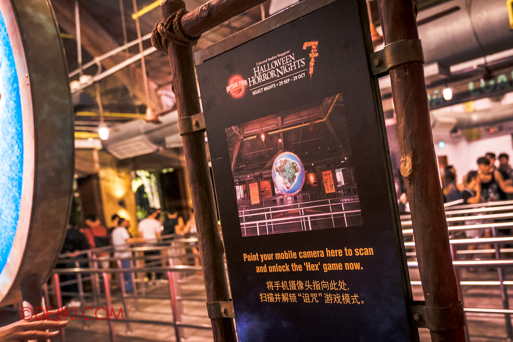 Halloween Horror Nights 7 Survival Guide - HEX queue game