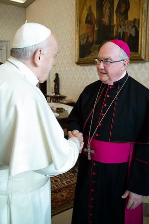 Bishop Mulvey's ad limina visit