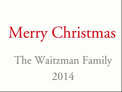 Waitzman Christmas Videos