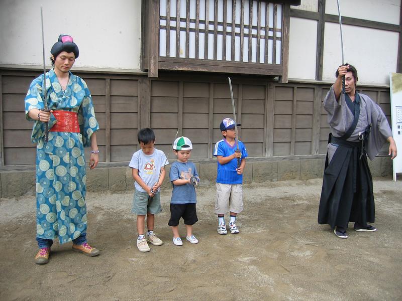 Kyoto Movie Town - The Tiny Samurai