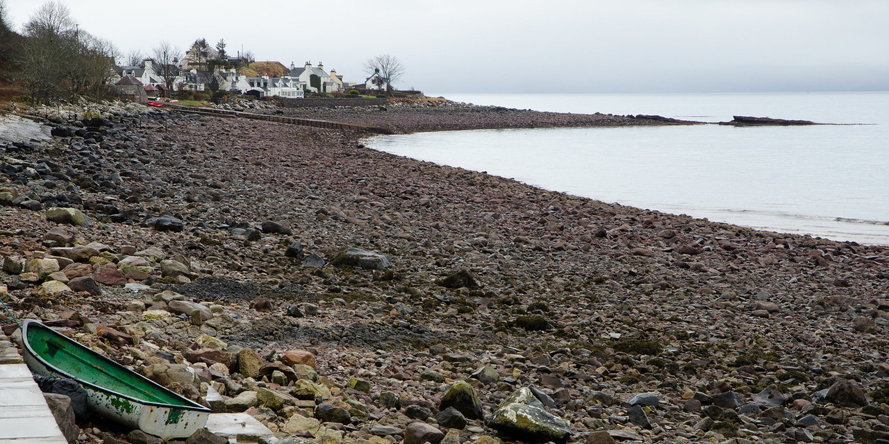 NC500 - Applecross - The rocky beach at Applecross