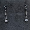 0.46ctw Forever Mark Diamond Drop Earrings 11