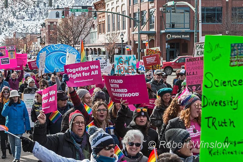 Women's March 2020, Durango, Colorado