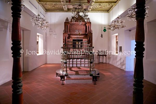 ISRAEL, Jerusalem. Kadavumbagam Synagogue, Cochin, India (at the Israel Museum, Jerusalem) (3.2016)