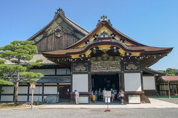 Kyoto Nijo Castle (Nijo-jo) - August, 2007