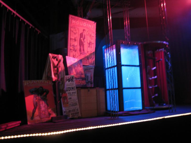 Houdini's Chinese Water Torture Chamber.