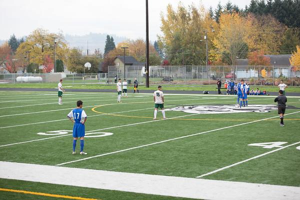 Soccer District Playoffs vs Blanchet