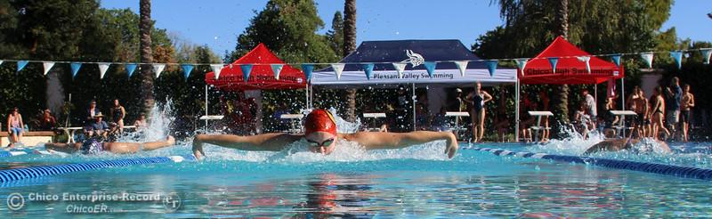 Chico High vs. Pleasant Valley swim off: Fish Bowl 2014