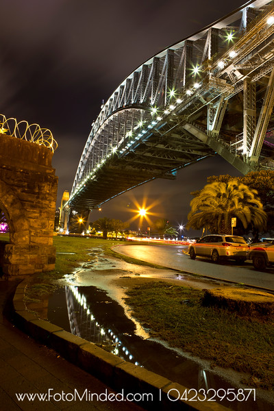 A classic shot of Sydney Harbor Bridge