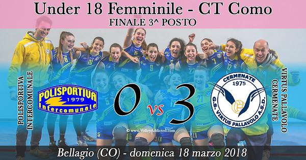 CO-U18f Finale 3p: Pol. Intercomunale - Virtus Cermenate