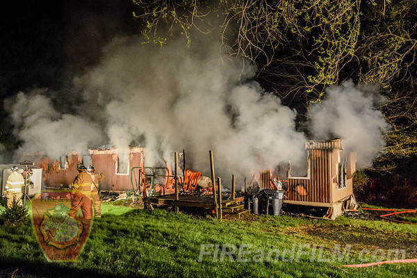 Schuylkill County - Union Twp. - House Fire - 05/05/2018