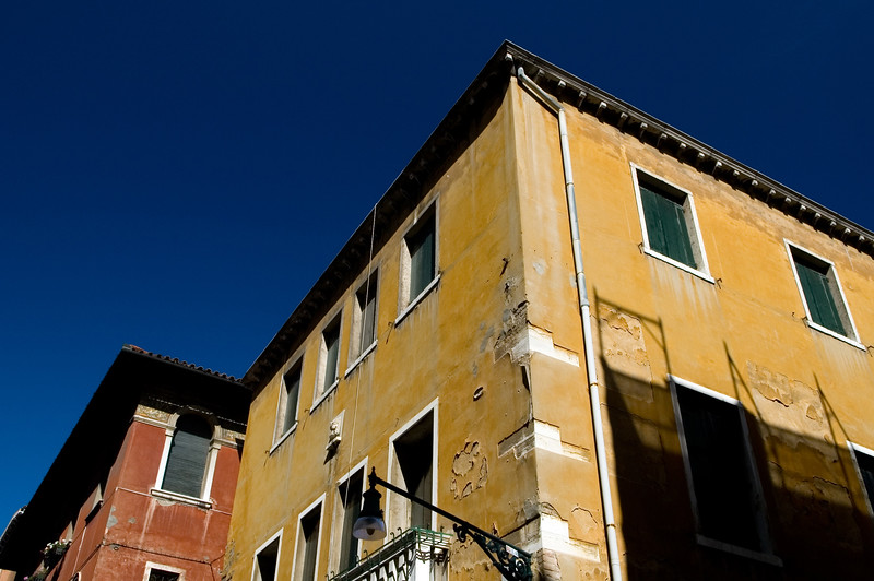Typical houses, Venice, Italy