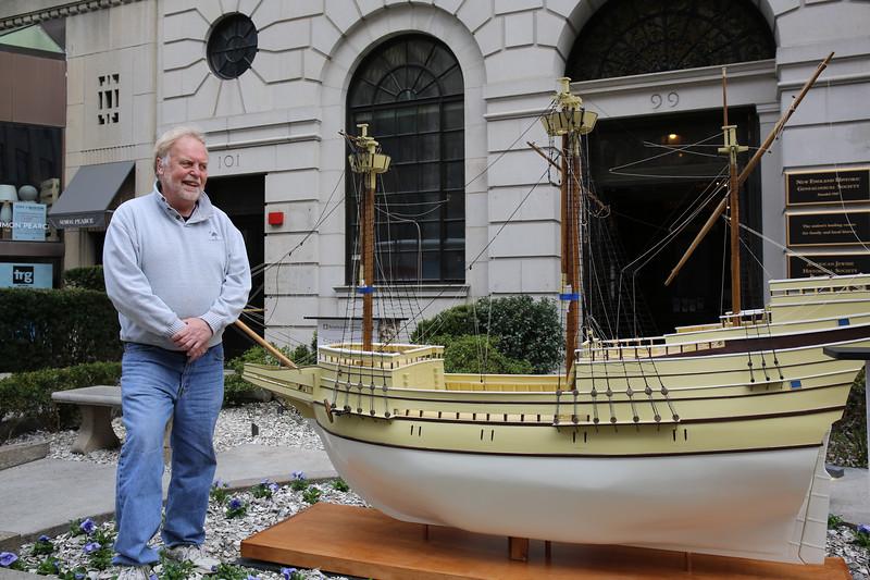 Builder of the Boston Mayflower