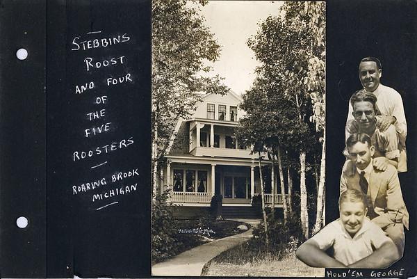 Stowell Stebbins  Album mostly 1923