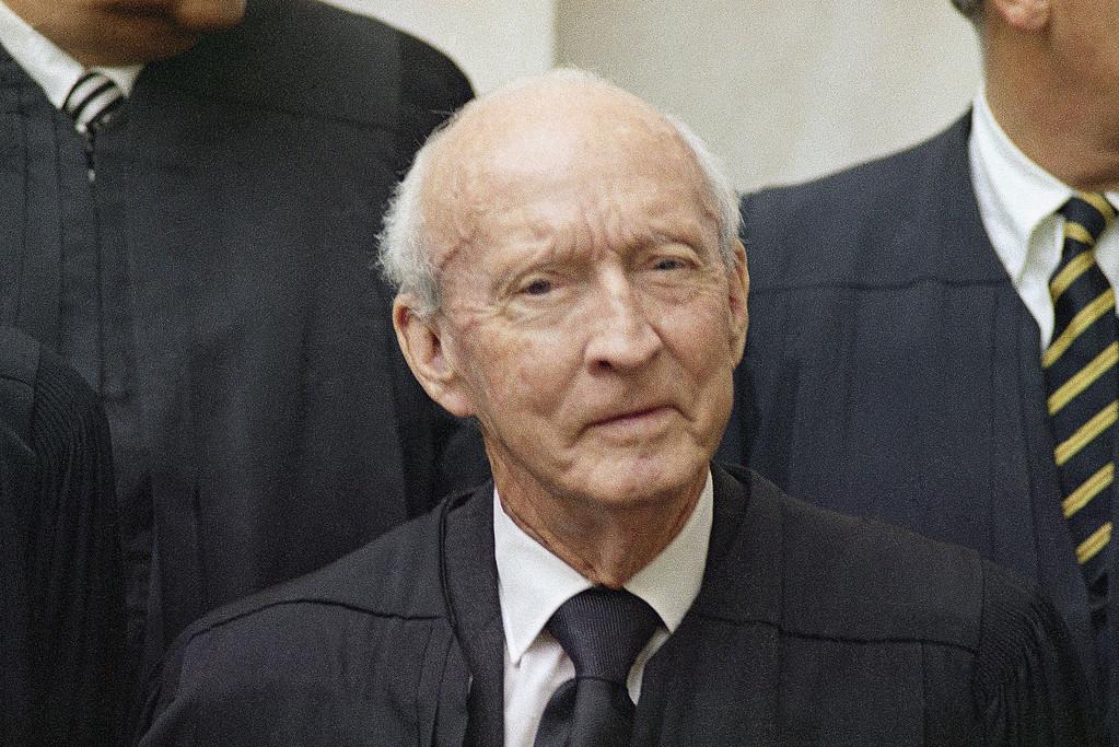 . Hugo L. Black, justice on the Supreme Court, is shown, Oct. 9, 1970. (AP Photo/John Duricka)