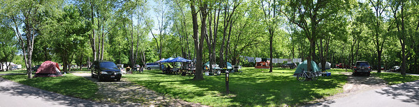 Clifty Campsite Panorama