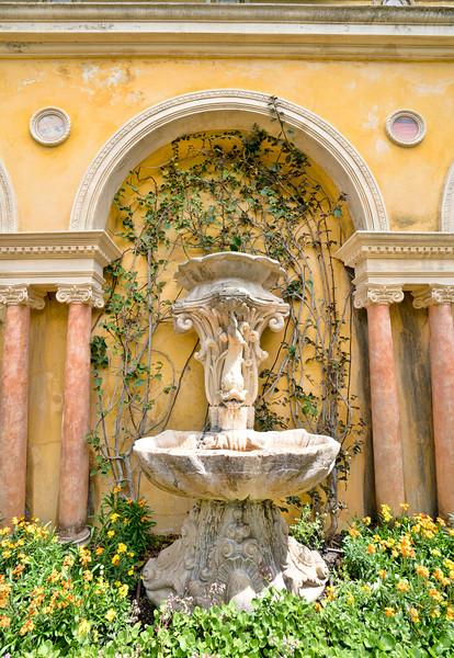 Rothschild Grotto Fountain