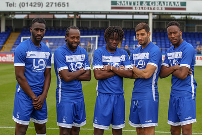 Hartlepool United Squad Pictures 2019-20