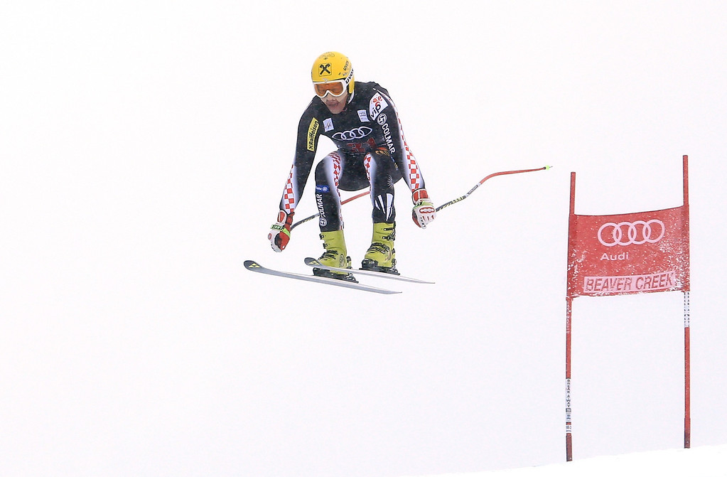. Ivica Kostelic of Croatia in action during the men\'s downhill race for the Birds of Prey Audi FIS Ski World Cup on December 6, 2013 in Beaver Creek, Colorado.  (Photo by Doug Pensinger/Getty Images)