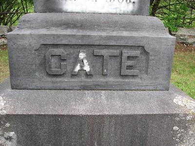 Samuel White Cate Grave
