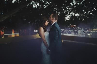 Jen & Dave. Married.