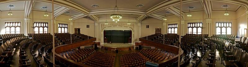 Hughes High School Auditorium - post-renovation -  September 17, 2010