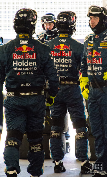 Red Bull Holden Racing Team pit crew