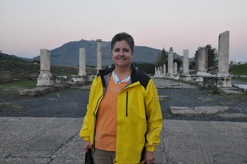 2010-10-24  272  Veronica at the Asklepieion, Near Pergamon