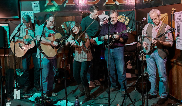 2018-11-10 Tangletown String Band at Murphy's