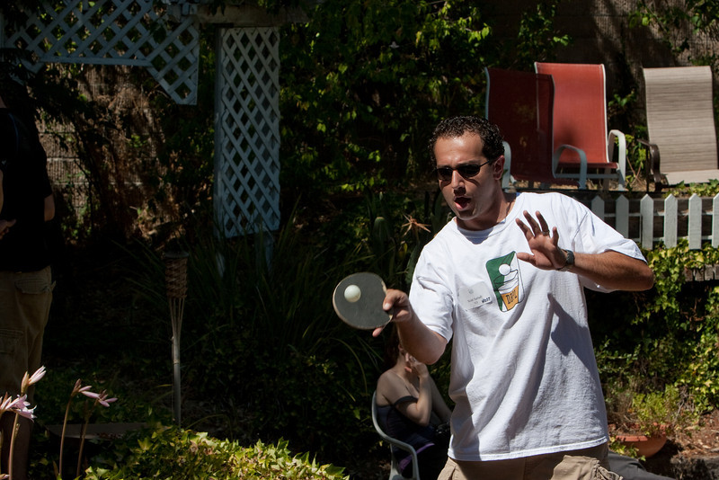 Pong party host Scott Safadi '03