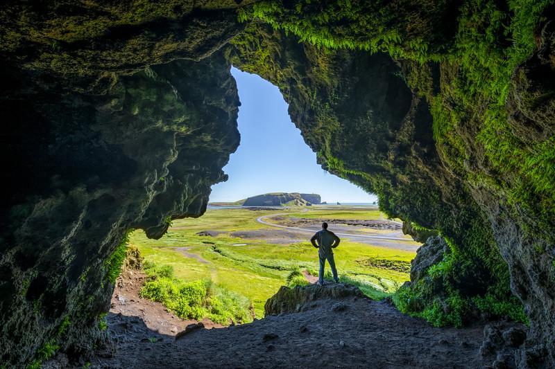 Cave Life (self portrait)