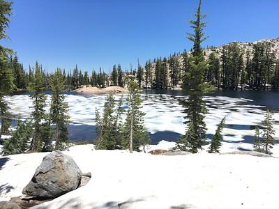 Bull Run Lake Day Hike: Jul 11, 2017