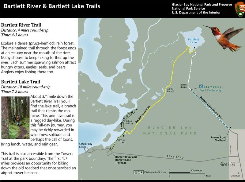 Glacier National Park (Bartlett River & Bartlett Lake Trails)