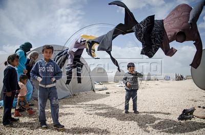 Campo de refugiados curdos