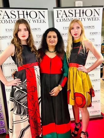 ViBha at Fashion Community Week Holiday Fashion Soiree 2018!