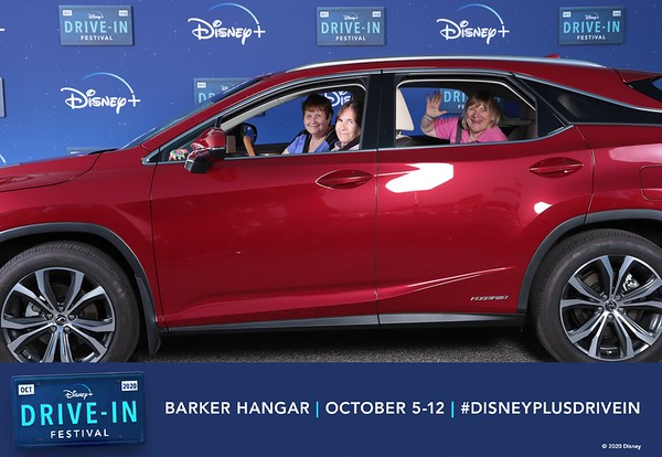 Disney+ Drive-In Festival 10/06