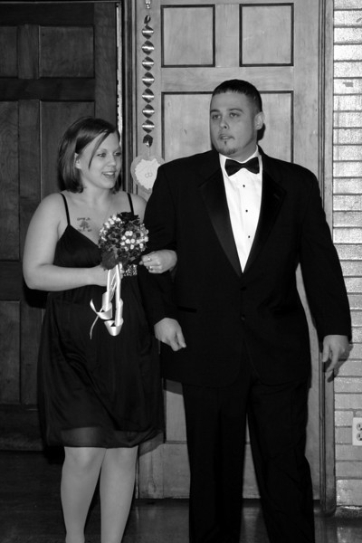 Stacey & Mike Black & White