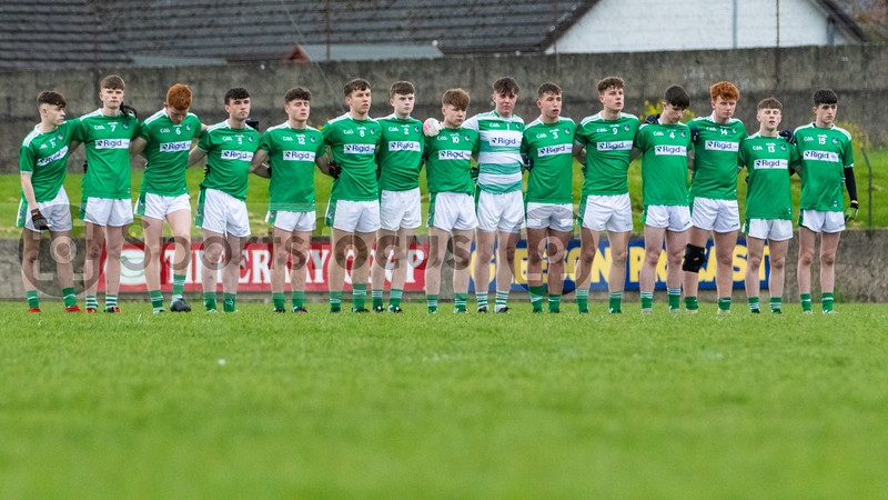 Limerick Team before the start of the Munster Minor Football Championship