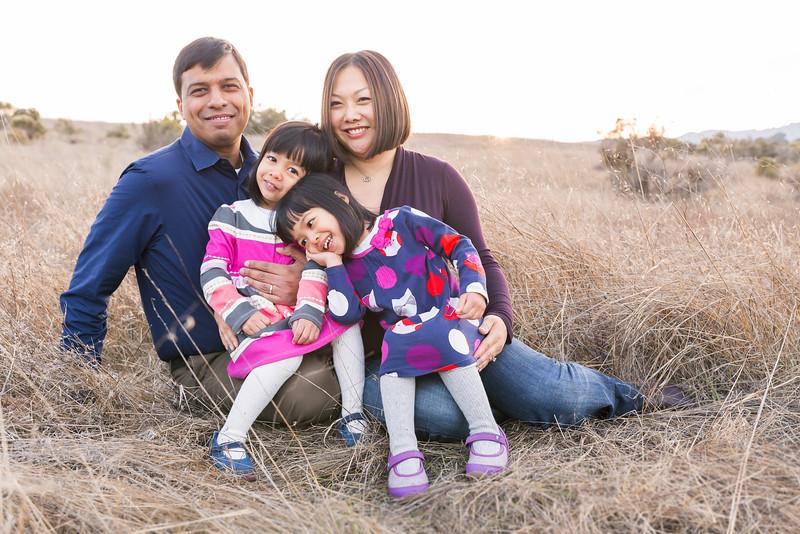 The Sinha Family | Arastradero