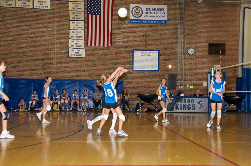 Hugo 5th Grade Volleyball  2010-10-02  5.jpg