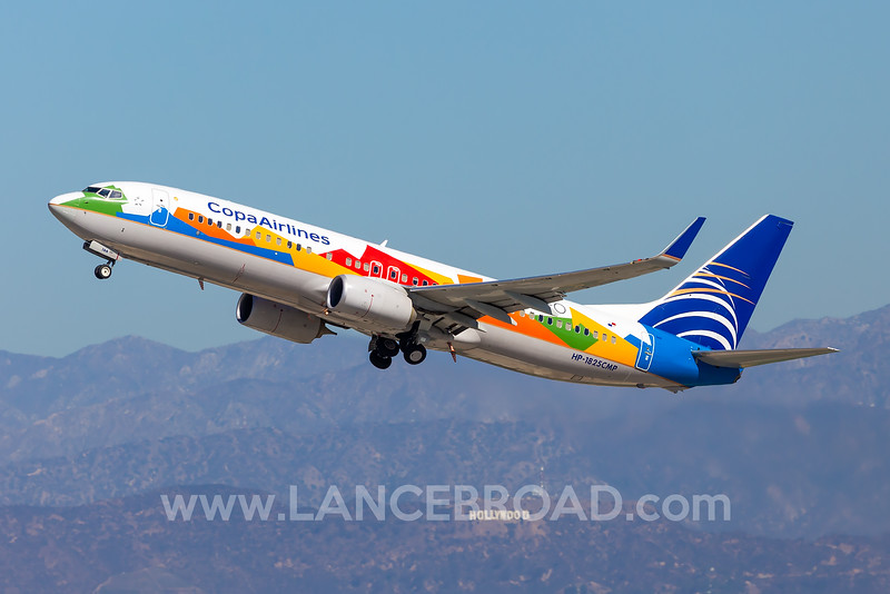 Copa Airlines 737-800 - HP-1825CMP - LAX