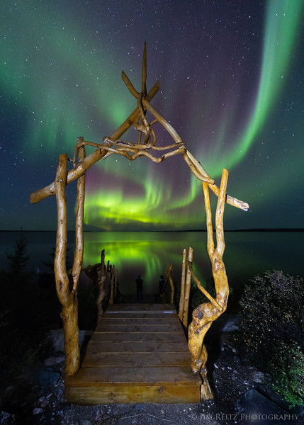 Gateway to the Northern Lights